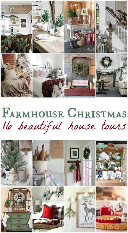 A Very Farmhouse Christmas Home Tour | designedsimple.com