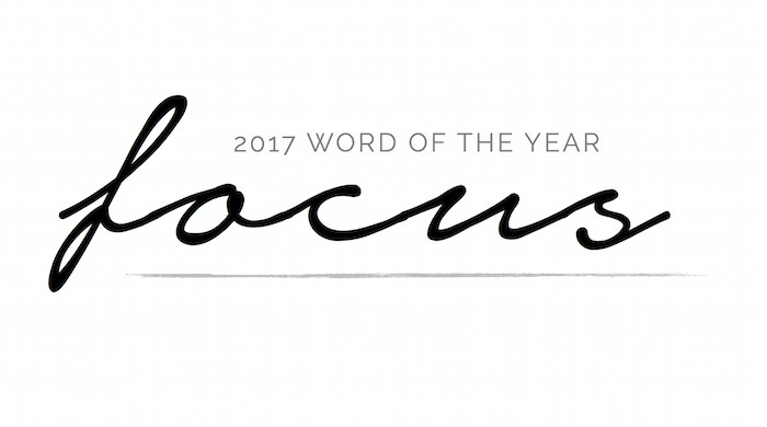 2017 Word of the Year | designedsimple.com