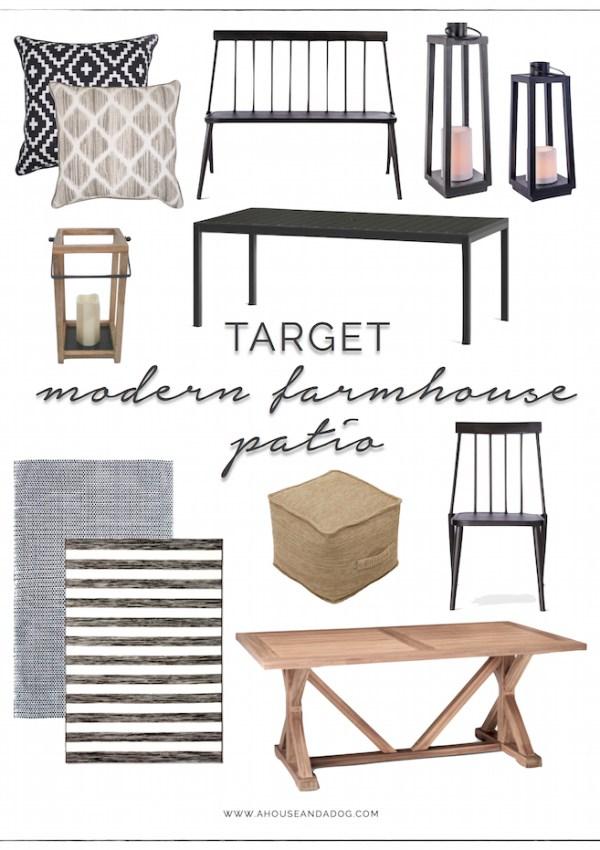 Modern Farmhouse Patio Furniture & Decor