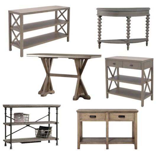Farmhouse Console Tables