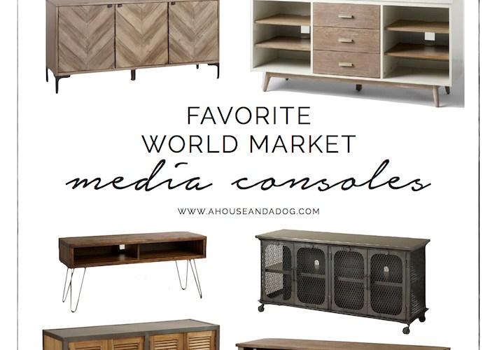 World Market Consoles | designedsimple.com