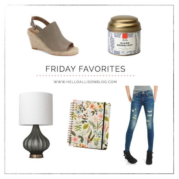 Friday Favorites 011 | designedsimple.com