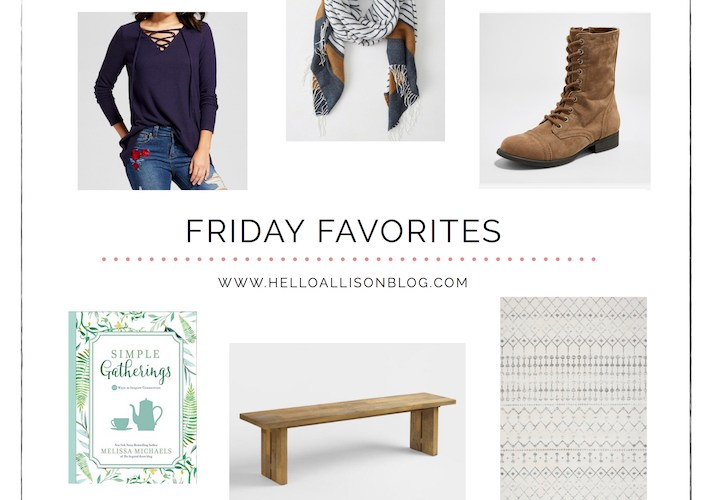 Fall Friday Favorites | designedsimple.com