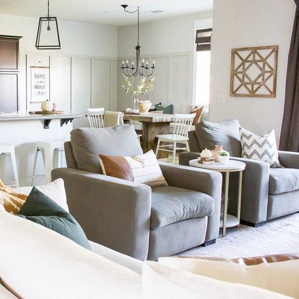 Modern Fall Decor + A House Update