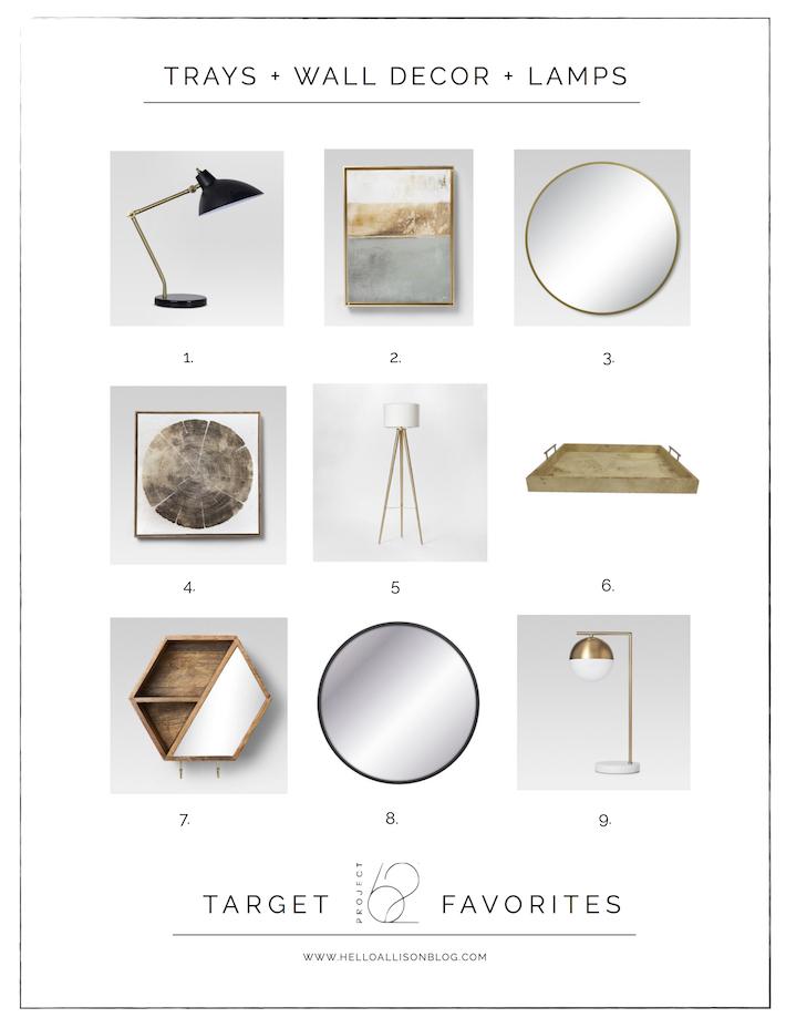 Project 62 Favorites - Target Thursday | designedsimple.com
