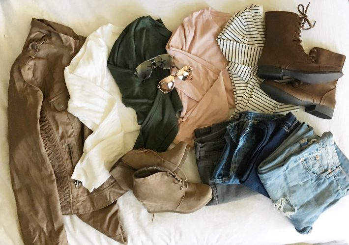 Affordable Fall Wardrobe | designedsimple.com