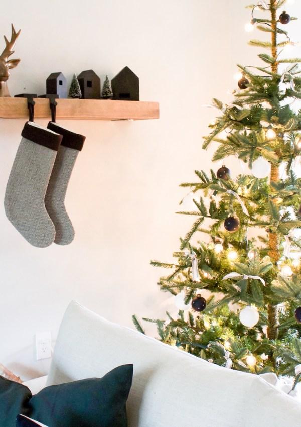 A Black + White Christmas