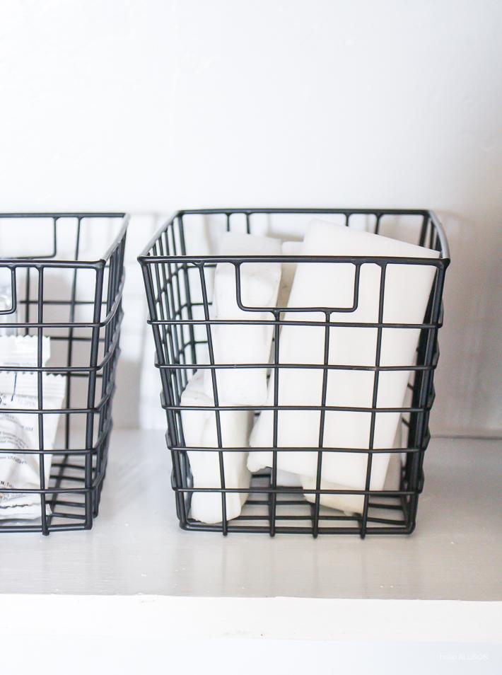Cleaning closet organization | designedsimple.com