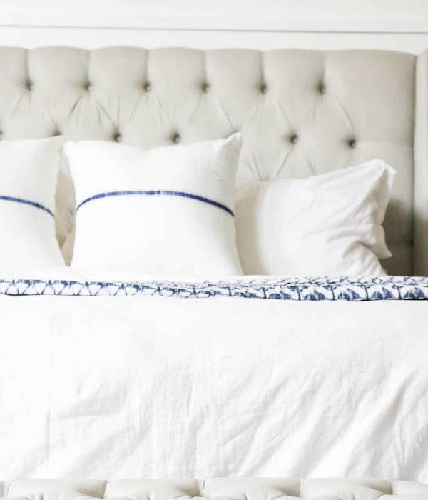 How to Keep White Bedding White + Bright