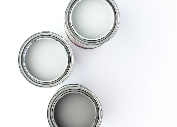 Valspar Gray Paint Colors | Favorite grays in our home! | Designed Simple | designedsimple.com