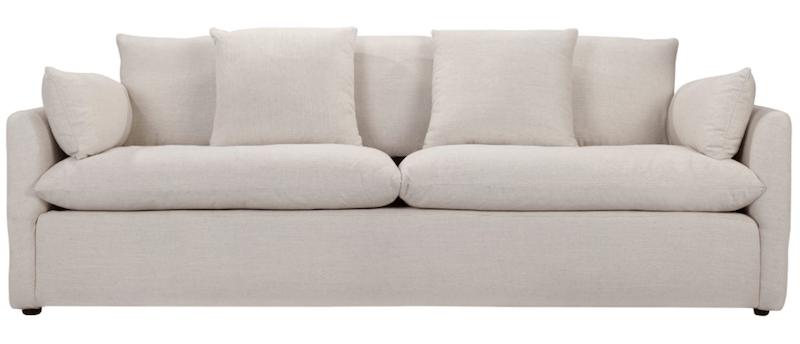 Living with a White Sofa | 8 Modern White Sofas | Designed Simple | designedsimple.com