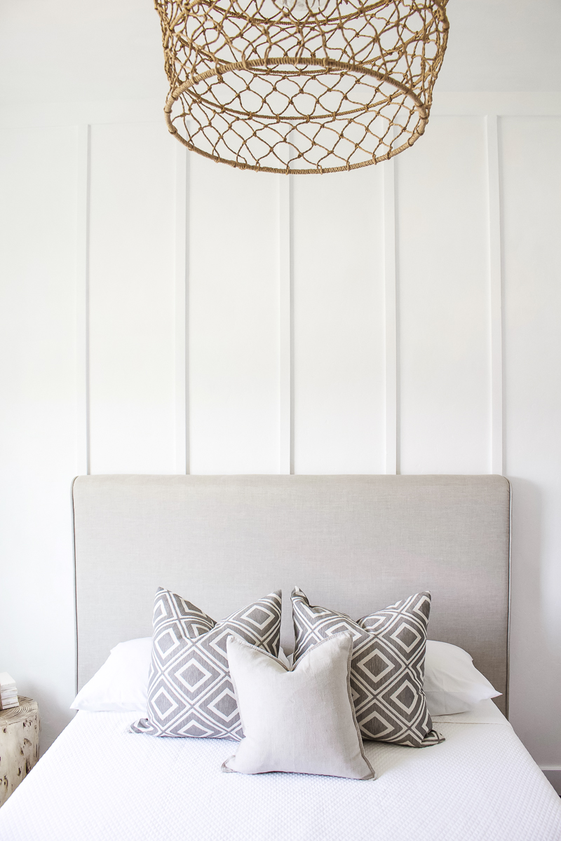 Sharing all the details on how to switch decor styles without spending a lot of money! A few DIY projects, paint, and new lighting can totally change the look of a home! | Designed Simple | designedsimple.com