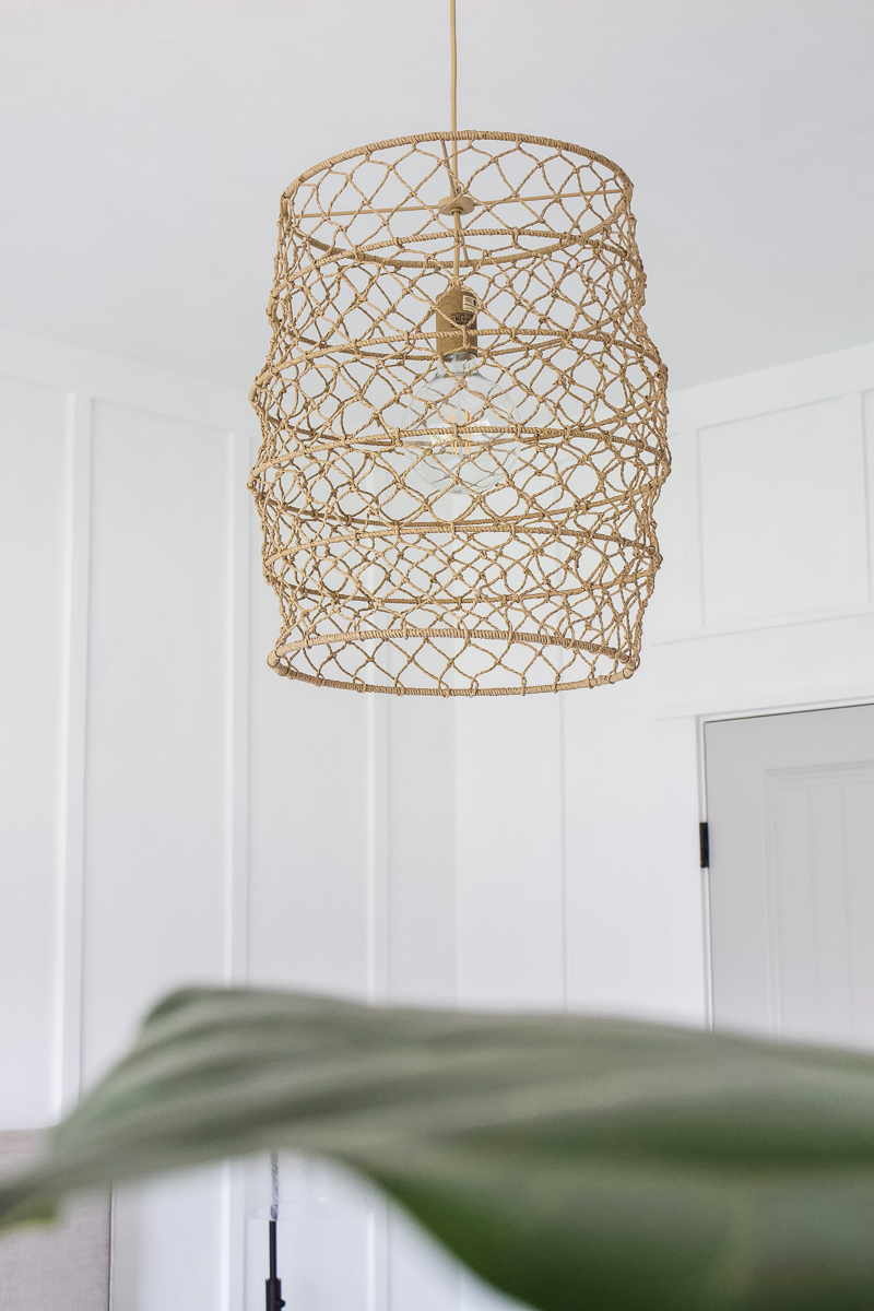 9 Basket Pendant Lights | Perfect for any space or any style! | Designed Simple | designedsimple.com