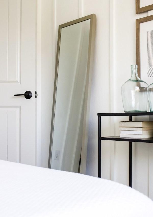 How to Change a Doorknob & 9 Matte Black Favorites