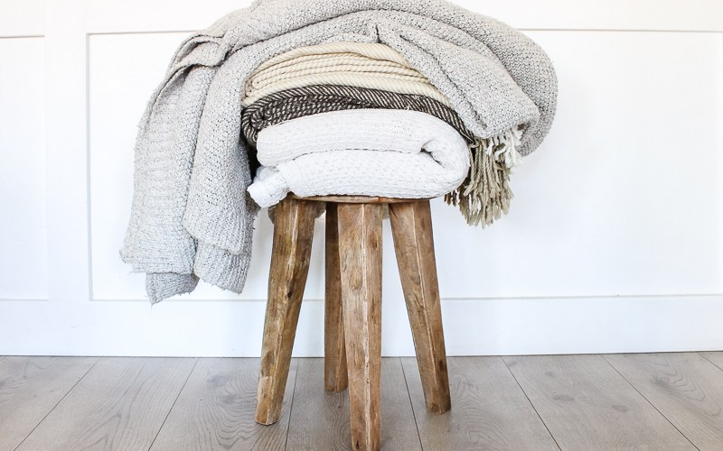 12 Cozy Blankets & Throws for Fall | Get ready to curl up and get cozy on the couch! | Designed Simple | designedsimple.com