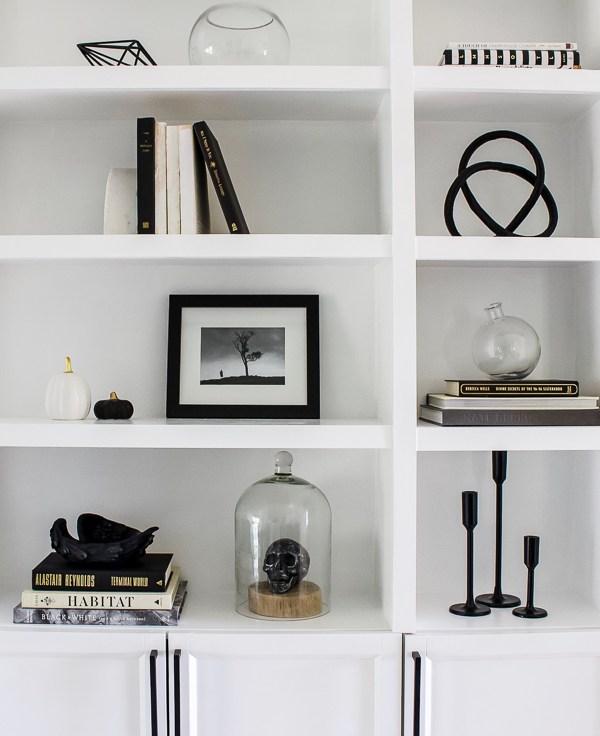 Simply Spooky Shelves