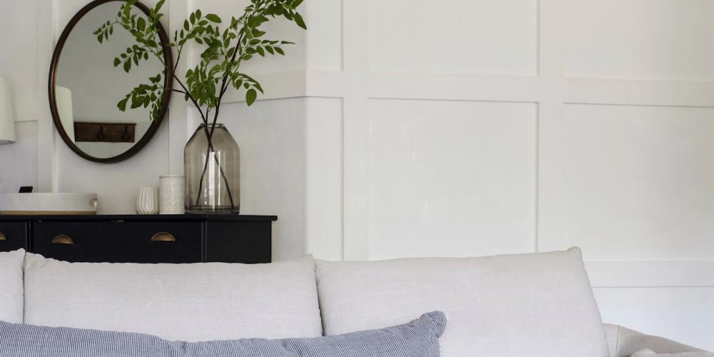 Budget Living Room Design under $1600 | Decorate your space! | Designed Simple | designedsimple.com