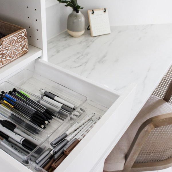 Functional storage & organization for every room of the house! Make your home functional, organized and pretty! | Designed Simple | designedsimple.com