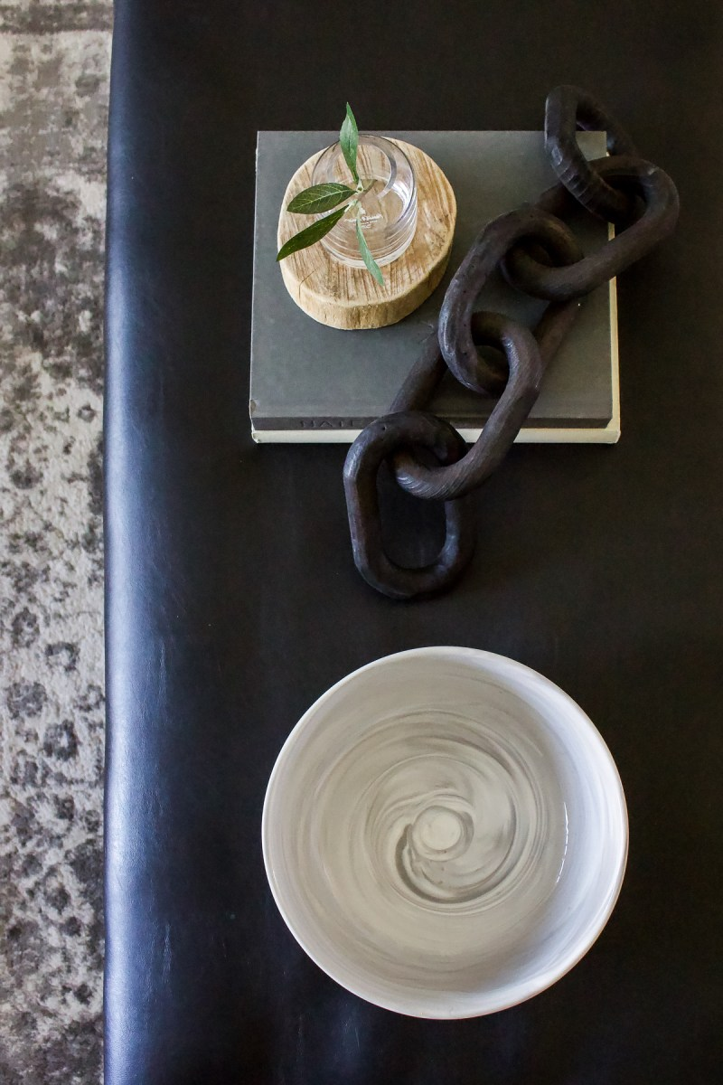 Simple Coffee Table Styling | Make your coffee table look great every time with these decor must-haves and simple tips! | Designed Simple | designedsimple.com