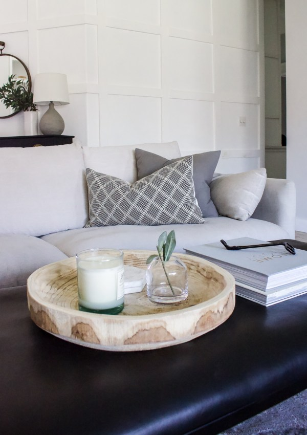 Simple Coffee Table Styling