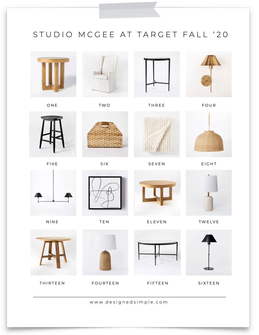 Studio McGee at Target Fall Collection | Sharing all my favorite new items! | Designed Simple | designedsimple.com