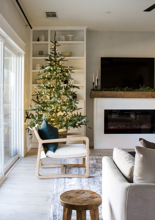 A Simple Christmas – Living Room