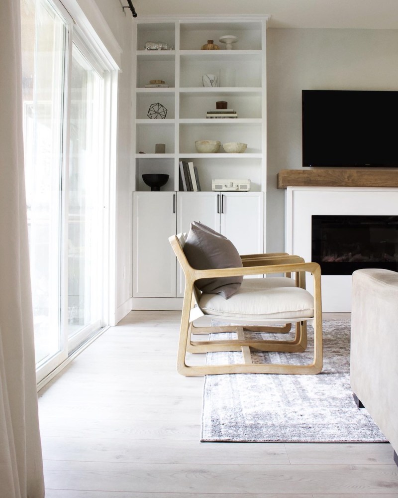 From built-ins to dressers, and even organization I'm sharing some of my favorite simple and easy IKEA hacks in our home! | Designed Simple | designedsimple.com