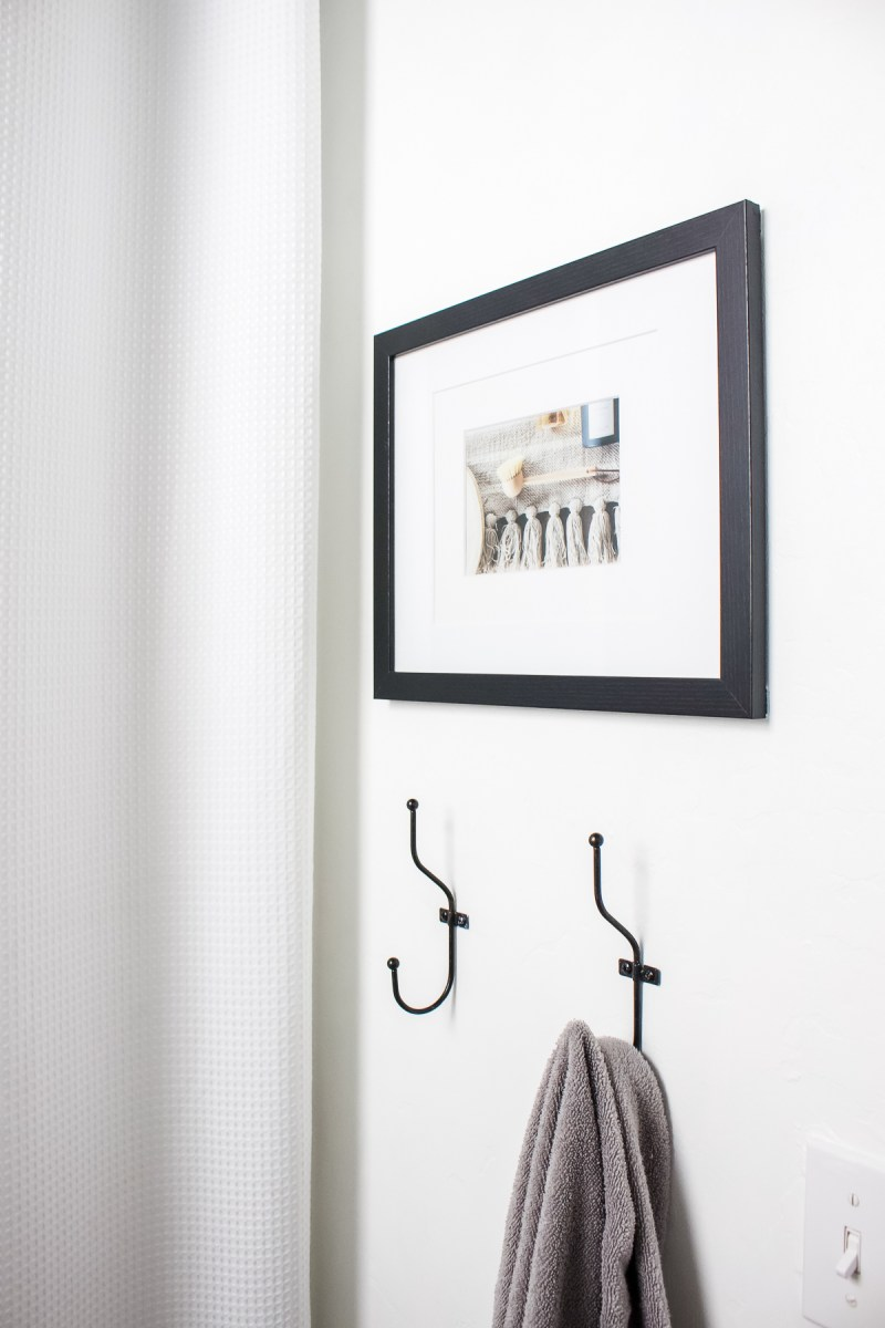 Sharing my top ten tips for bathroom organization! Use these simple ideas to contains toiletries, beauty products, necessities and more!   Designed Simple   designedsimple.com