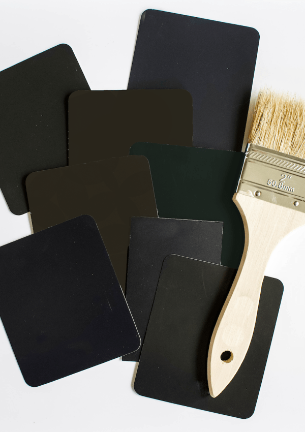 Favorite Valspar Black Paint Colors