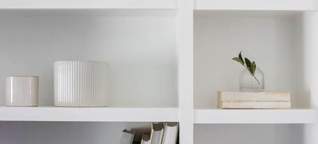 Summer Shelf Decor