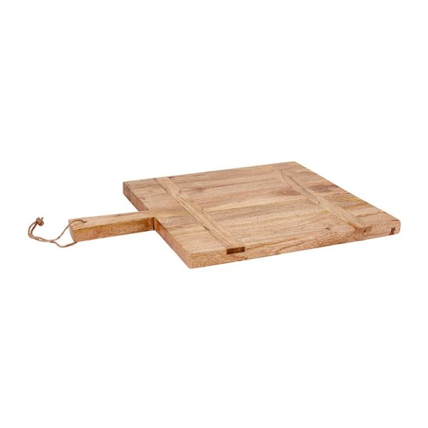 SHOP NOW - Add style and function to your kitchen with this sturdy wood charcuterie board. Perfect size for kitchen display and serving!   Designed Simple