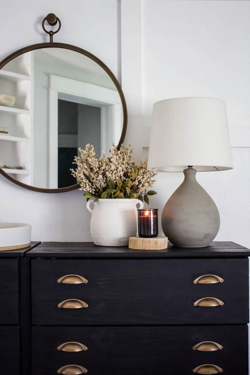 My favorite way to start decorating the house for the season is with fall stems & florals. So I'm sharing 25 affordable options! | Designed Simple | designedsimple.com
