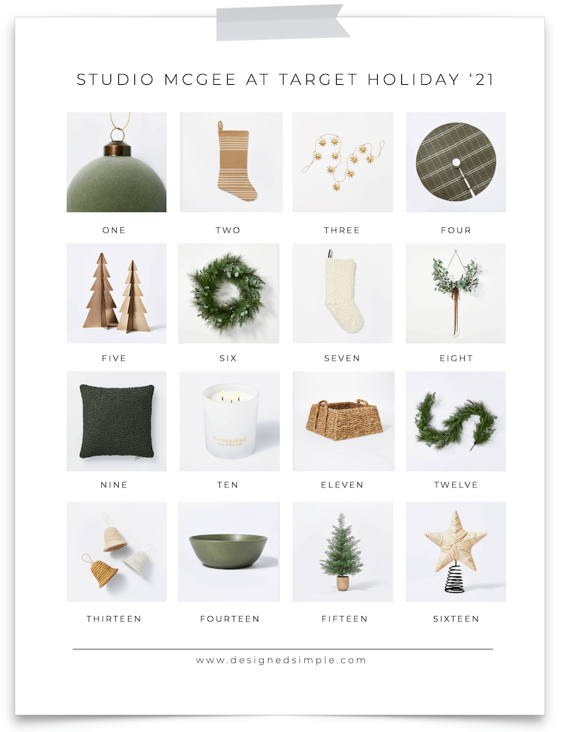 Sharing all of my favorites from the Studio McGee at Target holiday collection! Neutrals, beautiful greenery, and lots of inspiration.   Designed Simple   designedsimple.com