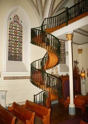 Amazing Stairs The Miraculous Staircase Of Loretto Chapel   Loretto Chapel Staircase Wood   Free Standing   St Joseph   Nm Church Santa Fe   Light   Sister