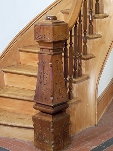 Restoration And Reproduction Stairs Designed Stairs | Heritage Stair And Railing | Stainless Steel | Balcony Railing Design | Indoor Stair | Interior Stair | London Ontario