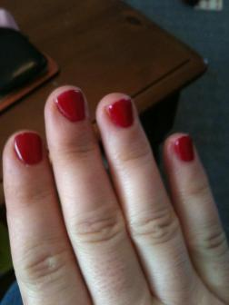 Red Nails!