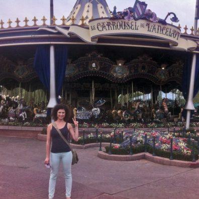 Disneyland Paris - Caruselul lui Lancelot