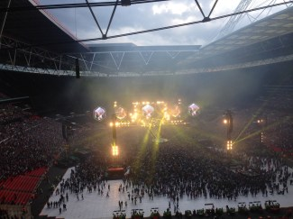 Coldplay A Head Full of Dreams Tour Wembley