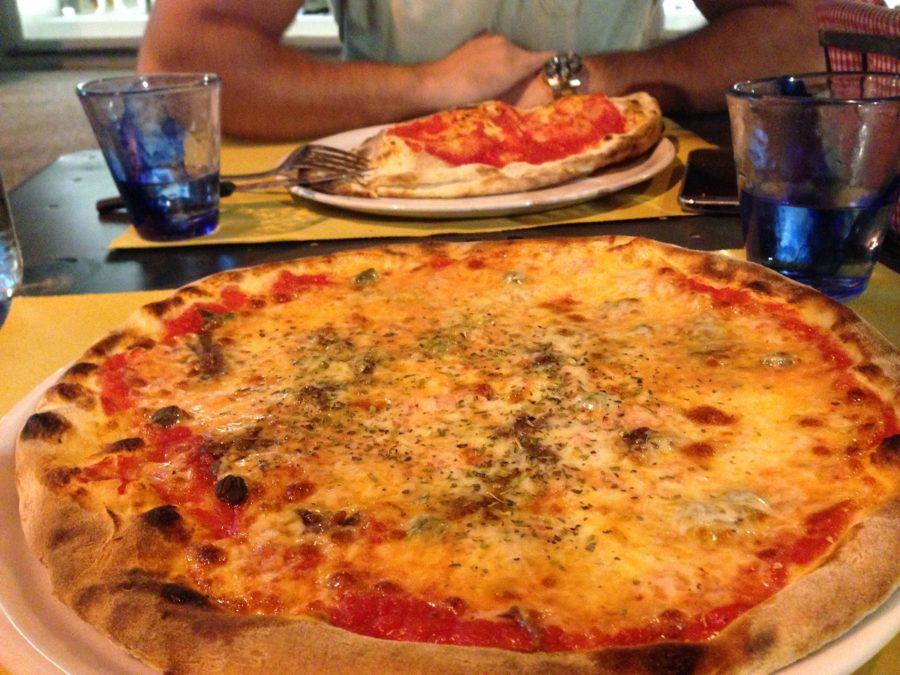 Pizza napoletana, cinque terre