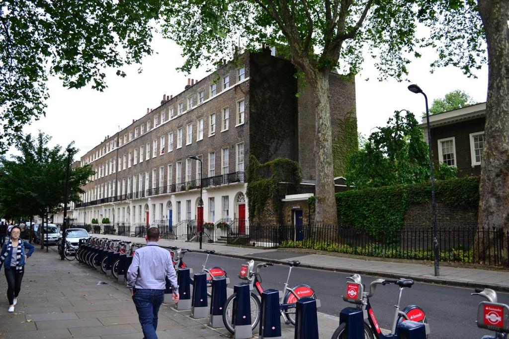 Transportul în Londra - Santander Cycles