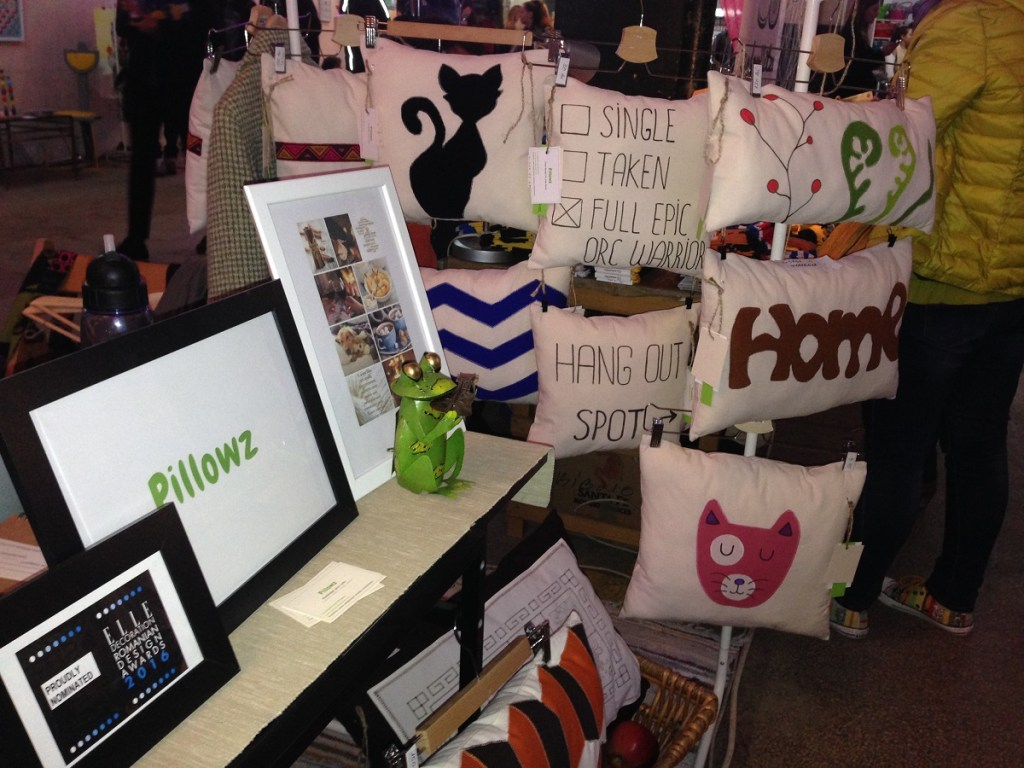 Creative Est Market 2016 - Pillowz