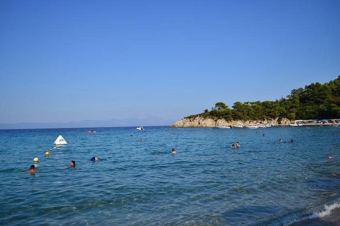 Plaje frumoase din Halkidiki - Armenistis
