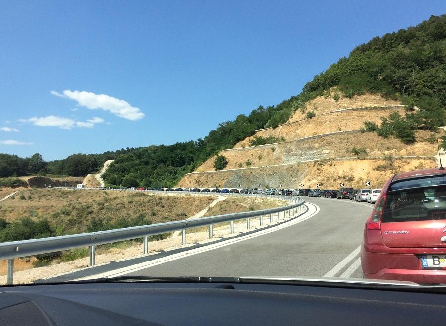 Traseul București – Thassos în 9 ore (prin Makaza)