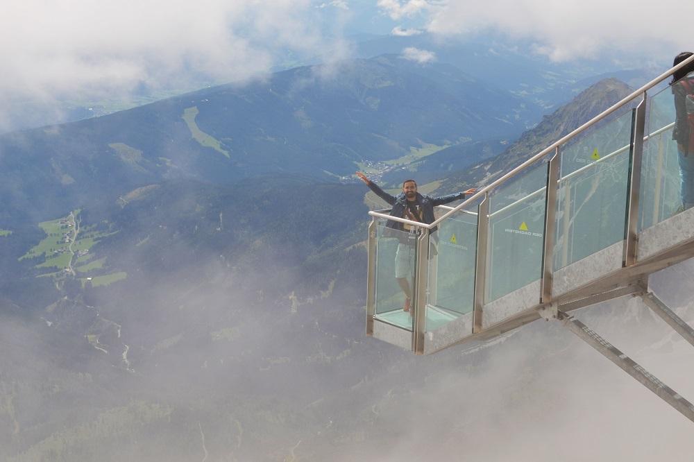 Aventuri la înălţime în Austria - Dachstein Glacier - Stairway to nothingness