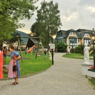 St Gilgen, Salzkammergut, Austria