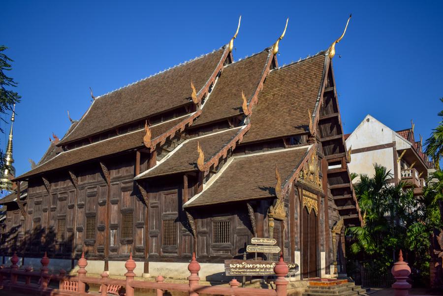 Wat Phan Tao - Temple din Chiang Mai