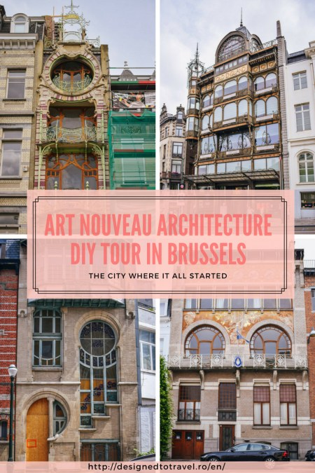 Art Nouveau architecture DIY Tour in Brussels, the city where it all started!