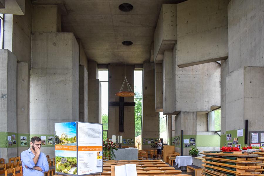 Wotruba Church, Vienna