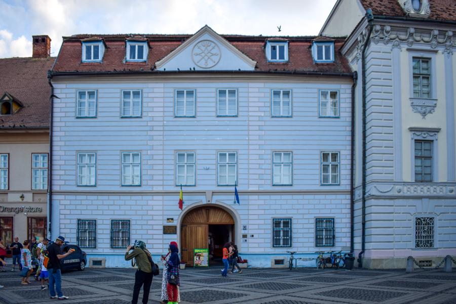 Sibiu, Romania - Casa Albastră