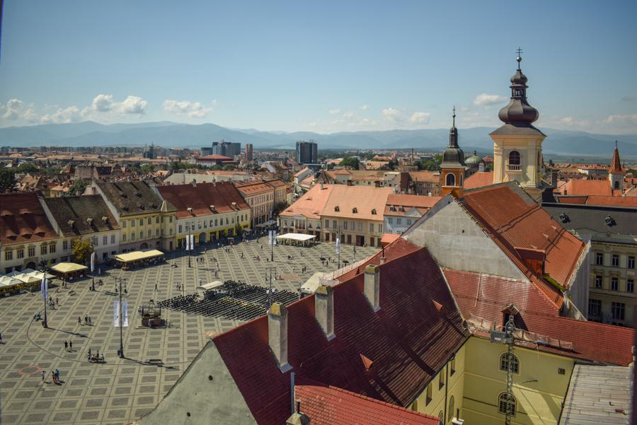 Sibiu, Romania - Turnul Sfatului